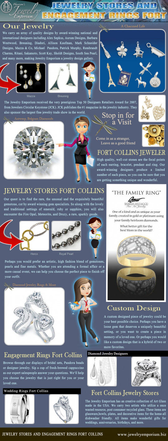 Jewelry Stores And Engagement Rings Fort Collins