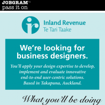 Jobgram - Inland Revenue Infographic
