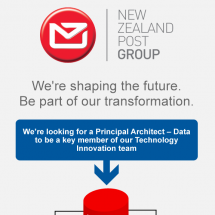 Jobgram - New Zealand Post - Principal Architect - Data Infographic
