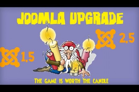 Joomla Upgrade 1.5 to 2.5 Infographic