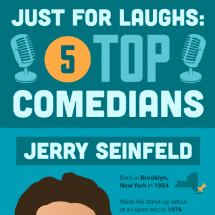 Just for Laughs: 5 Top Comedians Infographic