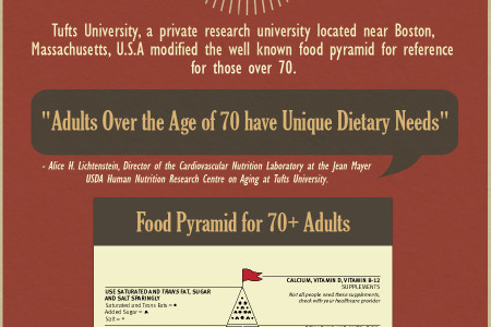 Keeping Healthy Over 70 - An Infographic Infographic
