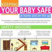 Keeping Your Baby Safe Infographic