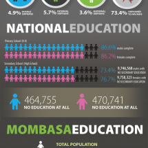 Kenya's Orphan & Education Crisis Infographic