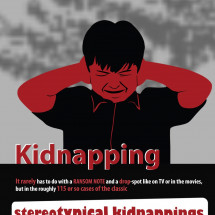 Kidnapping  Infographic
