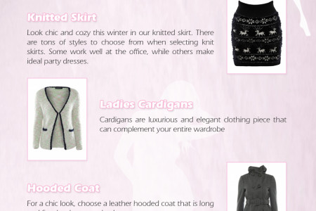 Latest Winter Coats and Jackets by Jumpo London Infographic