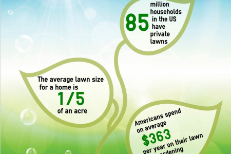 Lawns in the US Infographic