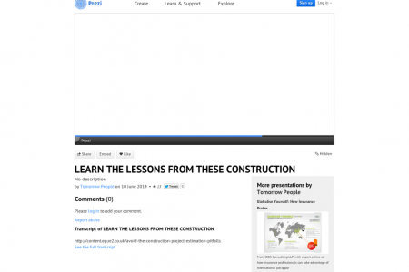 Learn the Lessons from These Construction Cost Control Nightmares Infographic