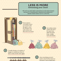 Less is More Infographic