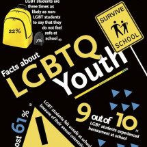 LGBTQ Youth Statistics Infographic