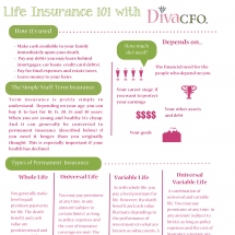 Life Insurance 101 Infographic