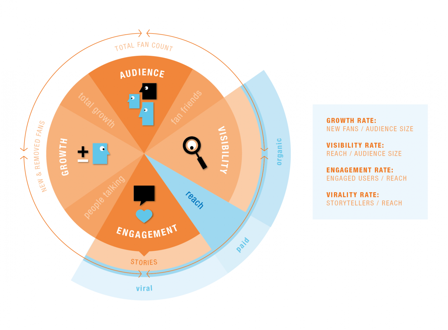 Social Media Lifecycle Infographic