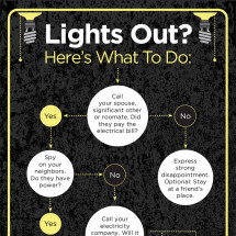 Lights Out Infographic