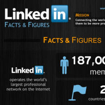 LinkedIn Facts & Figures Infographic