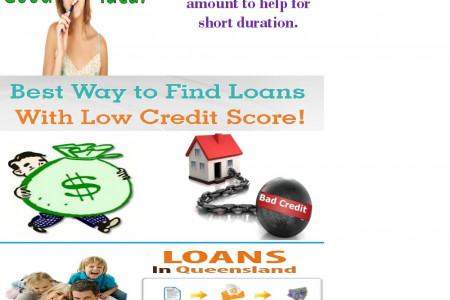 Loans In Queensland- Fulfill Your Short Term Financial Expenditures On Due Time Infographic