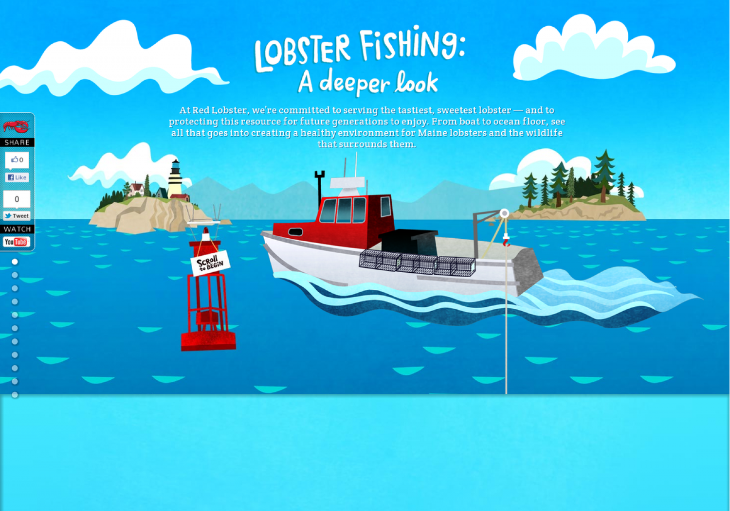 Lobster Fishing: A Deeper Look Infographic