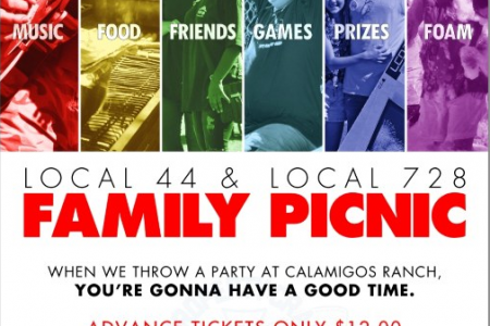 Local 44 Family Picnic Infographic