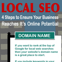 Local SEO - Steps to Success Infographic