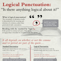 Logical Punctuation: