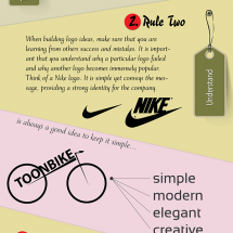 Logo Design Tips Infographic