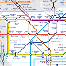 London Tube Map Infographic