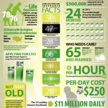 Long-Term Care Insurance Infographic