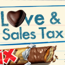 Love & Sales Tax Infographic