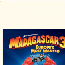 Madagascar 3 - filmographics Infographic
