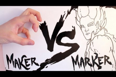 Maker Vs. Marker Infographic