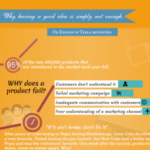 Marketing Campaign for Product Failure Infographic
