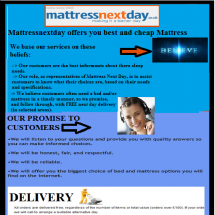 Mattressnextday offers you best and cheap Mattress Infographic