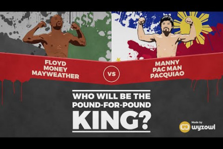 Mayweather Vs Pacquiao: Who will be the pound for pound King? Infographic