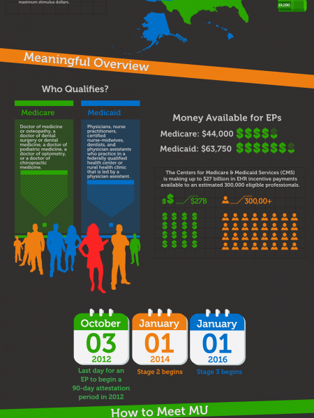 Meaningful Use Overview Infographic