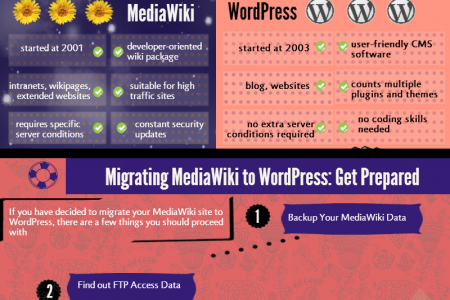 MediaWiki to WordPress Migration: All the Whys and Hows Infographic