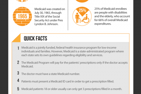 Medicaid Spending in the United States Infographic