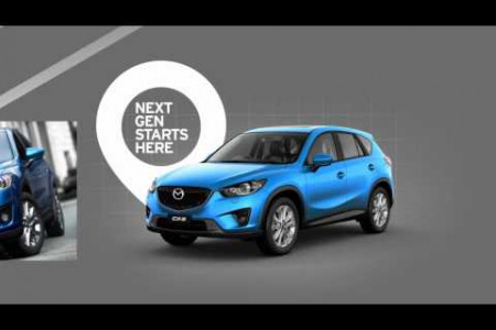 Meet the Mazda CX-5 Infographic