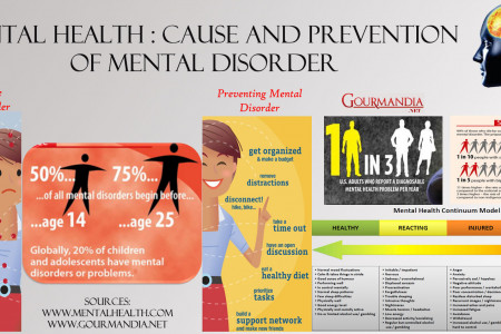 Mental Health: Cause and Prevention of Mental Disorder Infographic