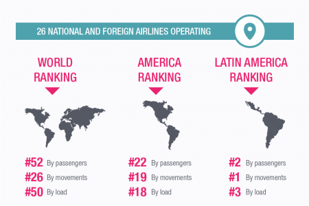 Mexico City Airport Facts Infographic