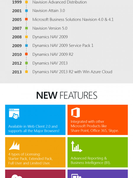 Microsoft Dynamics NAV Success Story Infographic