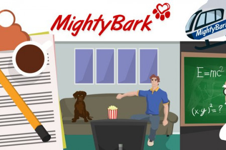 BOSSVFX | Mighty Bark - Explainer Video Infographic