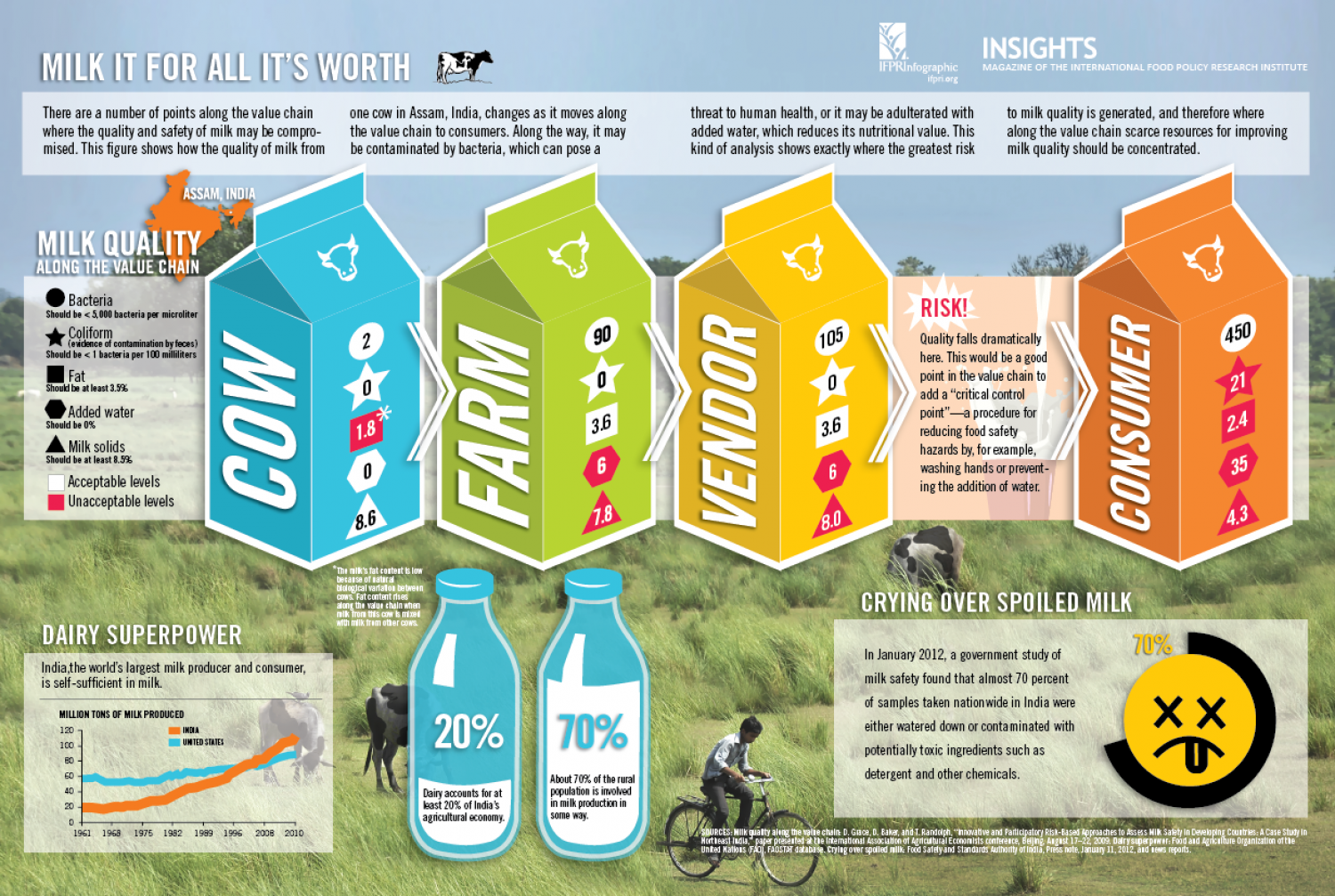 Milk It For All It's Worth Infographic