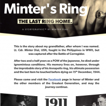Minter's Ring - a Historical Storygraphic Infographic