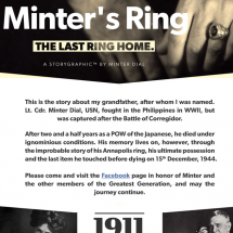 Minter's Ring - an emotional storygraphic about WWII Infographic