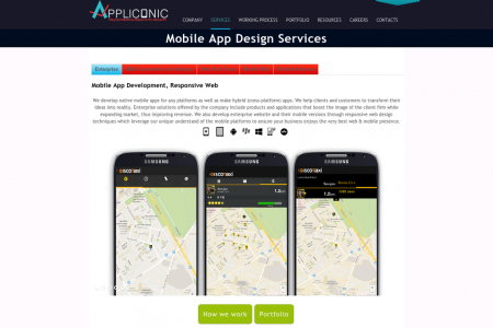 Mobile App And Web Development & Design Services Infographic