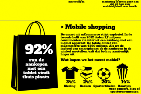 Mobile Marketing in Nederland (2013) Infographic