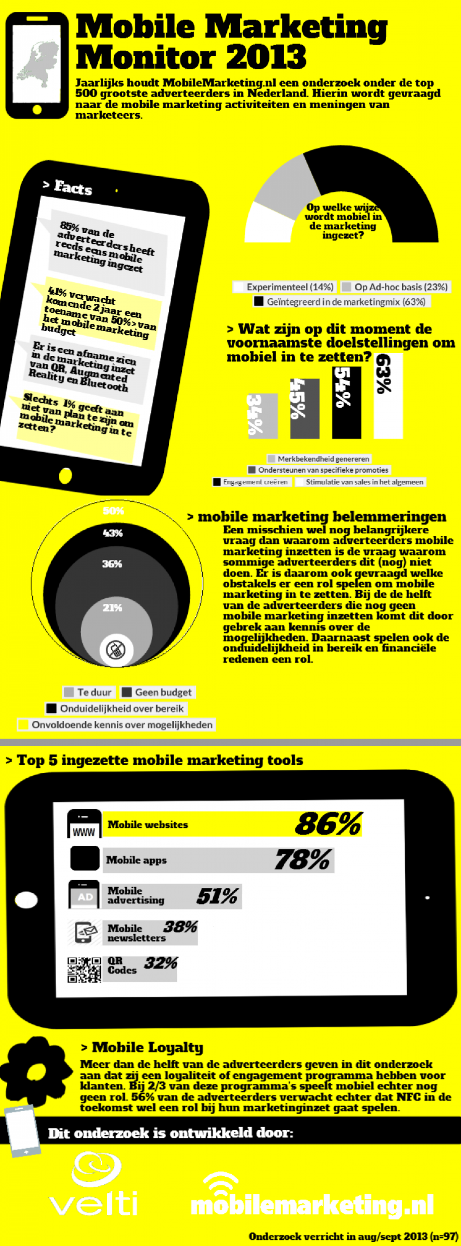 Mobile Marketing Monitor 2013 Infographic
