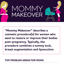 Mommy Makeover Infographic