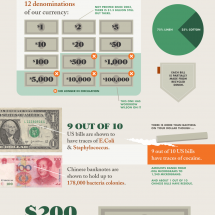 Money Makes the World Go Around Infographic
