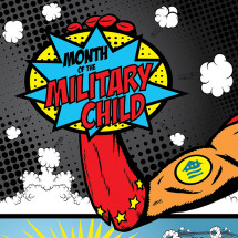 Month of the Military Child Infographic