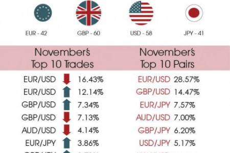 Monthly Forex Sentiment Index - November 2013 Infographic